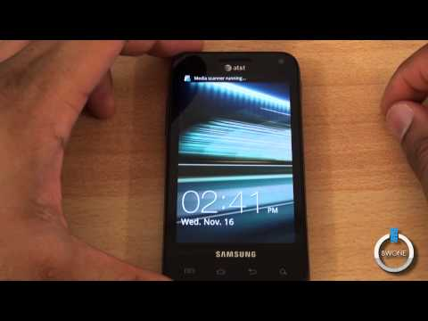 Samsung Captivate Glide Unboxing - BWOne.com