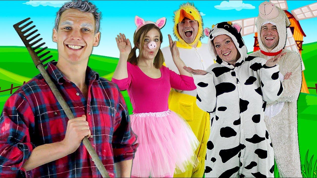 Download Old MacDonald Had a Farm - Kids nursery rhymes