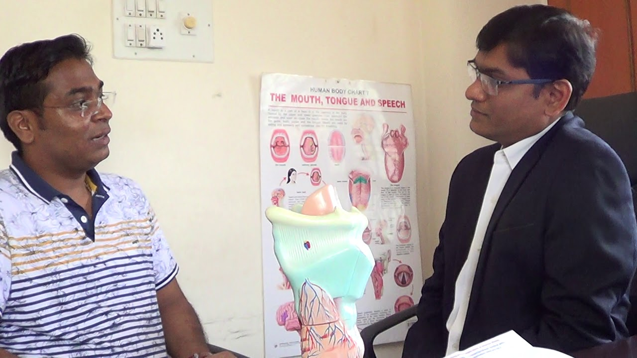 Before Female Voice In Male/Puberphonia/High Pitched Voice Therapy By SLP  Sanjay at Bangalore