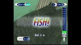 Sega Bass Fishing 2 Gameplay - Anderson Bridge - Sega Dreamcast