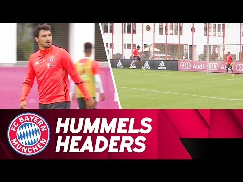Mats Hummels' Bullet Headers in Training!