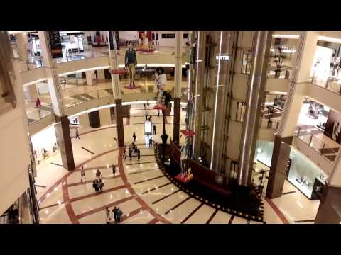 Pacific Place Mall Jakarta interior view