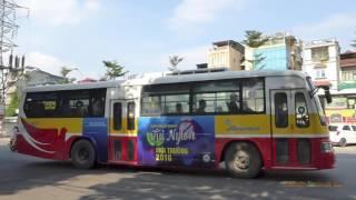 Xe buýt ở Hà Nội - Buses in Hanoi, Vietnam 2016
