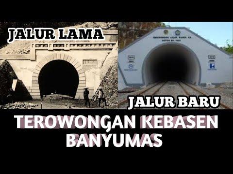 Banyumas Tempo Dulu -  Pembangunan Terowongan dan Jembatan Sungai Serayu Tahun 1914 - 1915