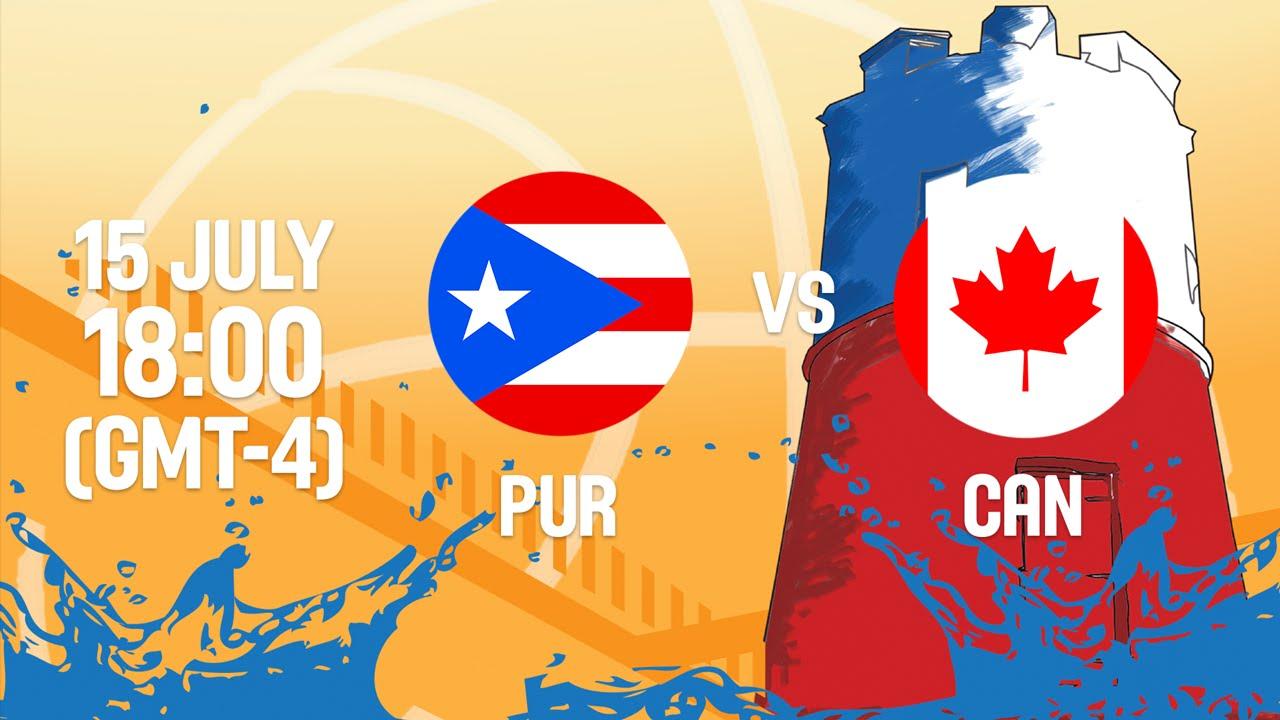 Puerto Rico v Canada - Full Game - Group B