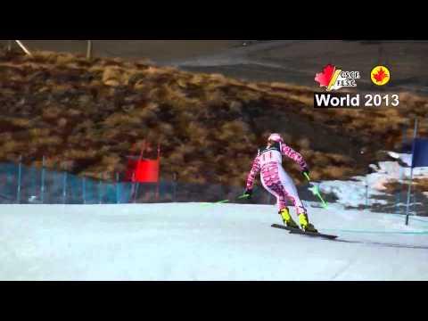 Women GS 2013 Инструктор по горным лыжам в Австрии Китцбюэль