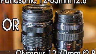 Panasonic 12-35mm f2.8 vs Olympus 12-40mm f2.8 - DSLR FILM NOOB