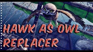 Skyrim MOD Showcase 📌 Hawk as Owl Replacer