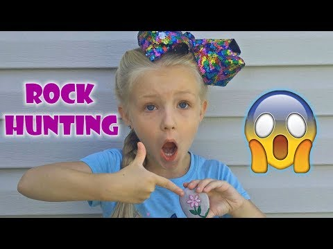 Rock Hunting WHAT DID WE FIND!! Summer Vacation Vlog