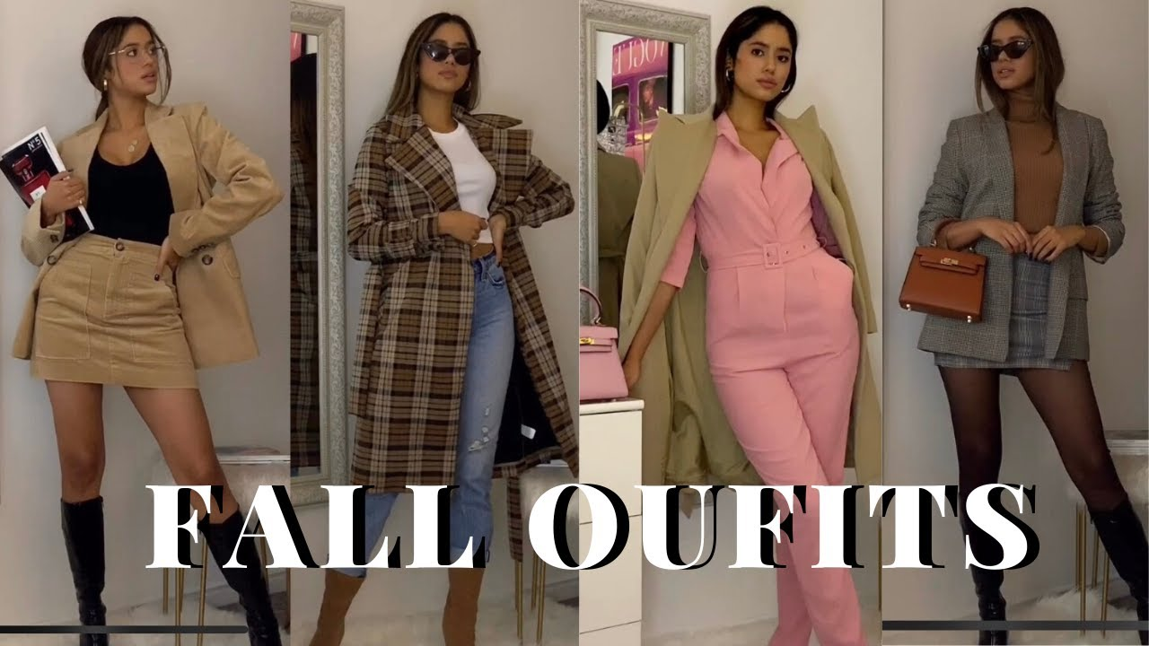 [VIDEO] - SUPER STYLISH FALL OUTFITS IDEAS! WHAT TO WEAR THIS FALL 2019 2