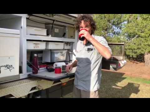 Cafflano Klassic Pour Over Coffee Maker - Using It On The Road