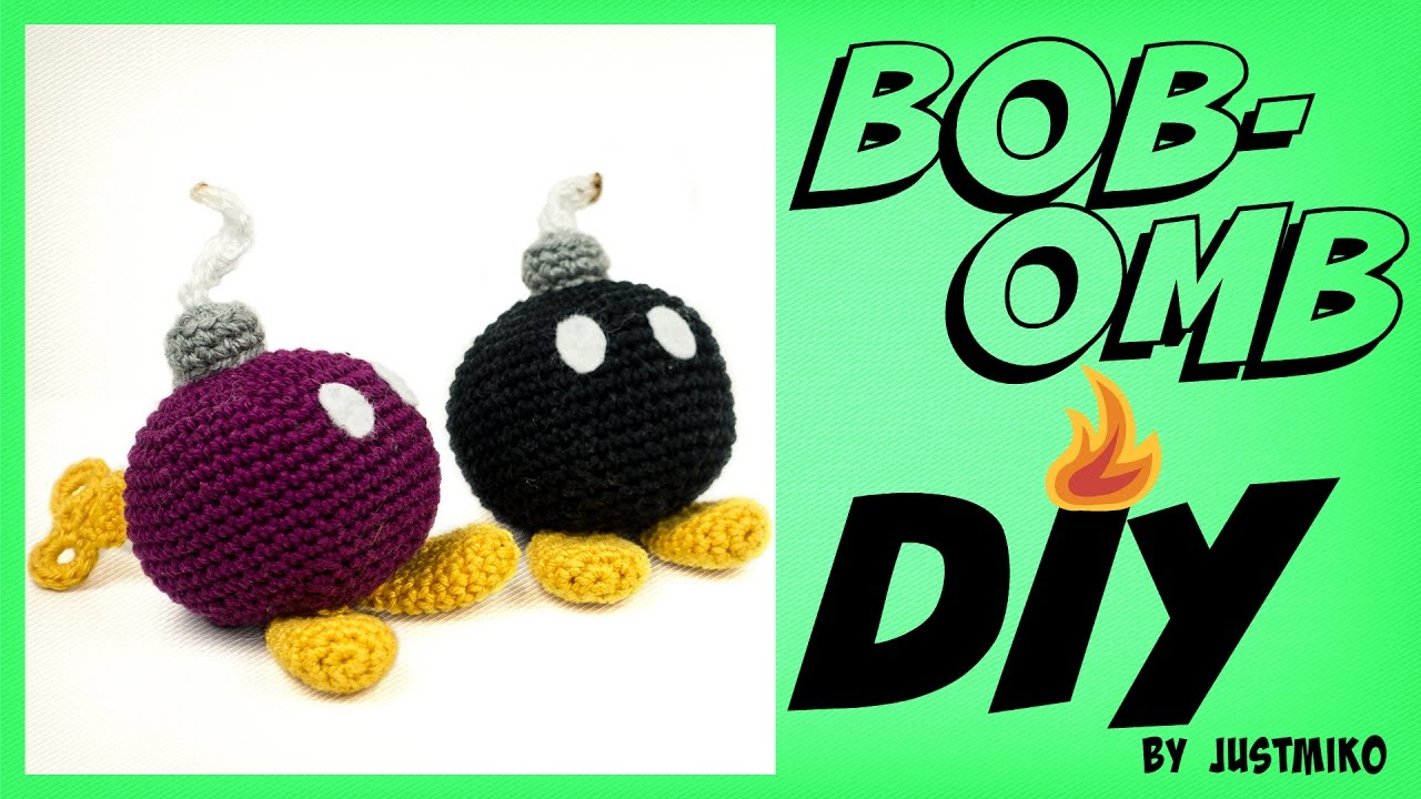 Bob Omb Häkeln Do It Yourself Amigurumi Super Mario Youtube