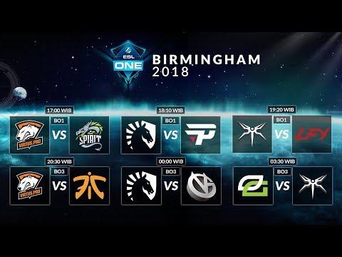 Virtus Pro VS Team Spirits (BO1) - ESL Birmingham 2018, Group Stage Day 1
