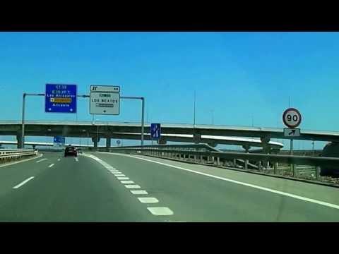 Motorway in Spain