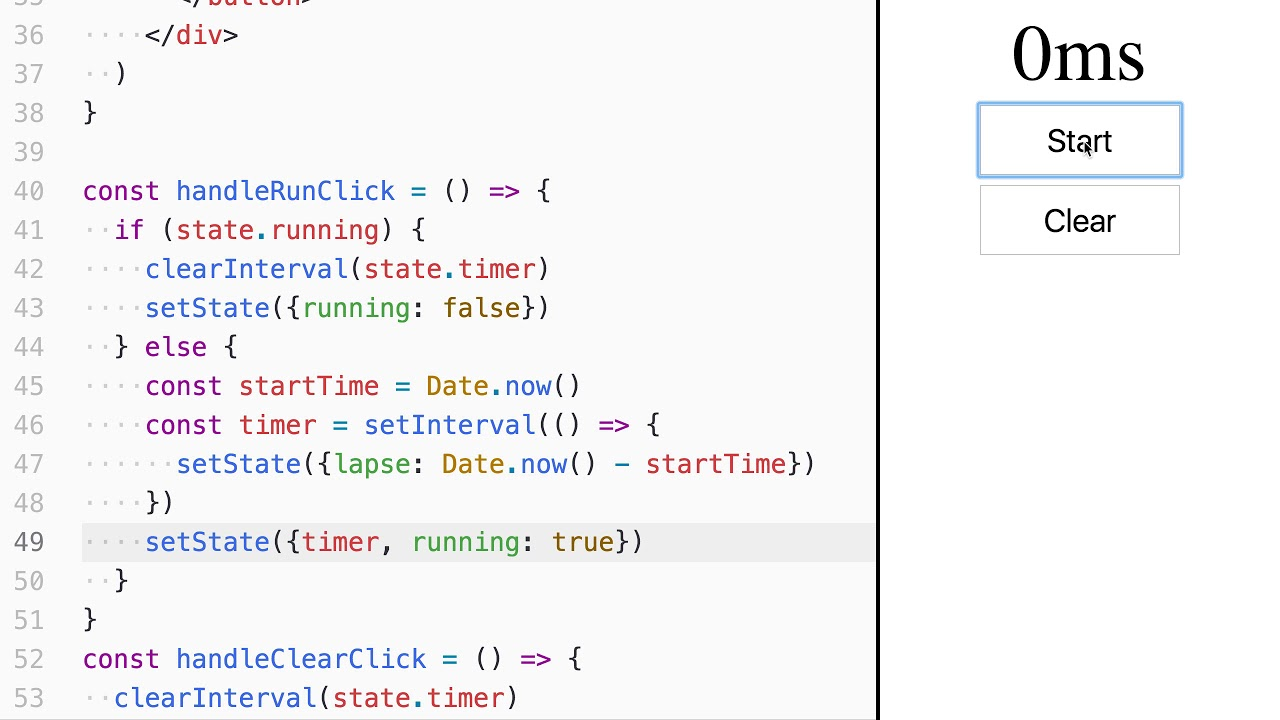 Use state in React