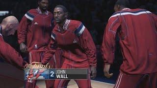 NBA LIVE 15 - Xbox One Gameplay: Washington Wizards v Oklahoma City Thunder [1080p HD]