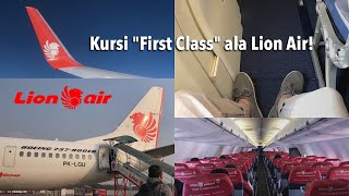 Kursi TERBAIK di Lion Air Boeing 737-900ER | Jakarta - Batam JT374