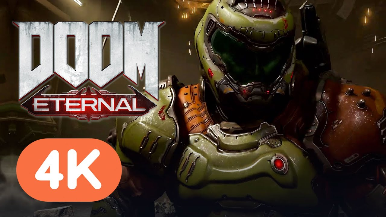 Doom Eternal Gameplay Runs at 4K 100+ FPS on RTX 3080 thumbnail