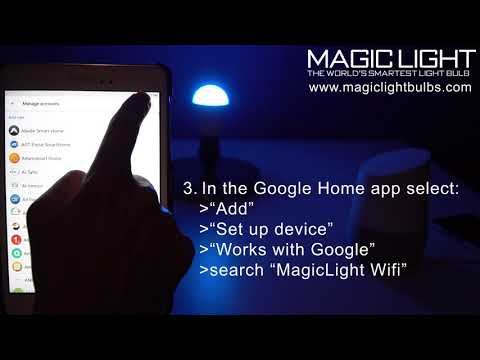 Set Up Google Home With Your MagicLight Smart Bulb