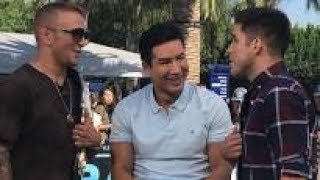 """TJ Dillashaw and Henry Cejudo face off on Extra TV on what some are calling """"Promo"""""""