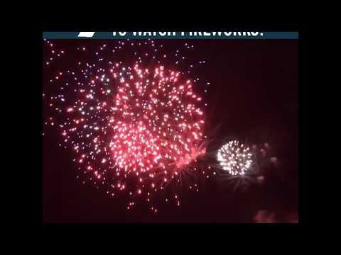 Where is the best place to watch fireworks in Michigan?