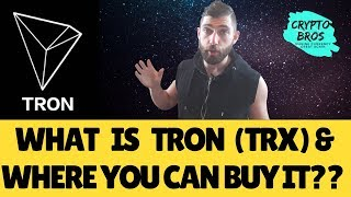 What is Tron (TRX) and Where to Buy It.