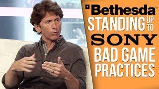 Bethesda vs Sony
