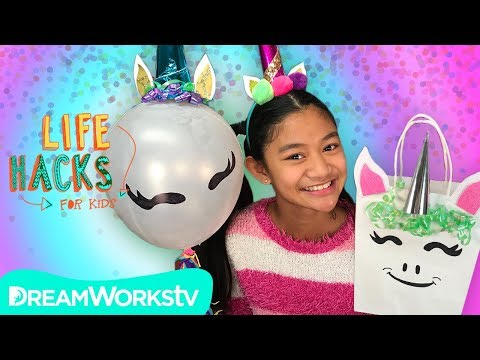 Unicorn Party Hacks | LIFE HACKS FOR KIDS