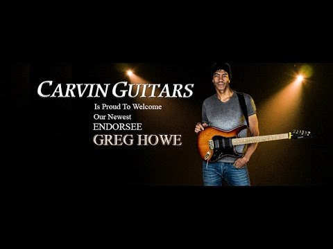 Greg Howe interview with Carvin Guitars