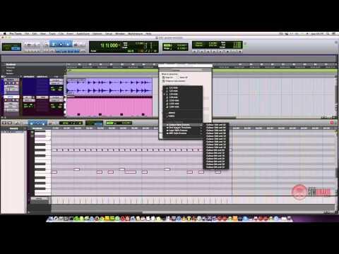 AVID Pro Tools - Humanizando Baterias MIDI - Groove Template