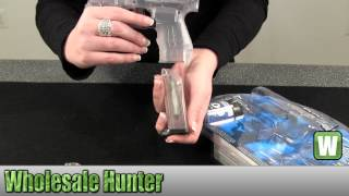 Umarex Walther P22 Clear 6mm BB Gun 2272000 Gaming Shooting Unboxing