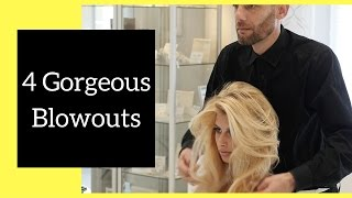 Gorgeous Blowout Hairstyles   Thesalonguy