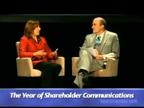 The Year of Shareholder Communications