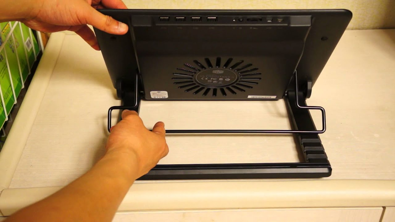 b03e0af54d8 Cooler Master Notepal ErgoStand ll laptop stand - Appearance - YouTube