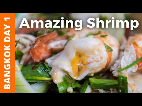 Ridiculously Creamy Shrimp and Khao San Road (ต้มยำกุ้ง อร่อยมาก) - Bangkok Day 1