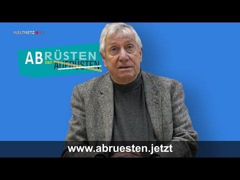Wolfgang Gehrcke: Abrüsten statt Aufrüsten