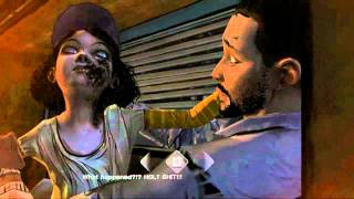 The Walking Dead zombie Clementine / Episode 3: Long road ahead