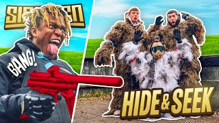 SIDEMEN PAINTBALL HIDE AND SEEK