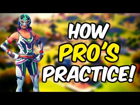 What Pro's Do To Practice In Fortnite!