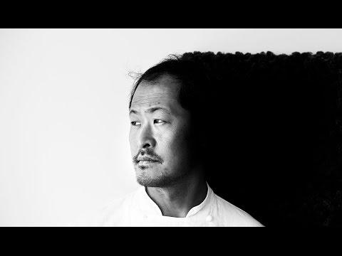 Chef Sang Hoon Degeimbre at L´Air du Temps in Belgium
