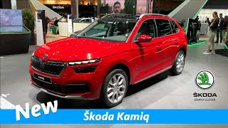 New Škoda Kamiq 2019 - FIRST look! (interior-exterior)