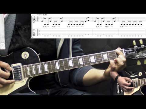 Volbeat - Doc Holliday - Rhythm Metal Guitar Lesson (w/Tabs)