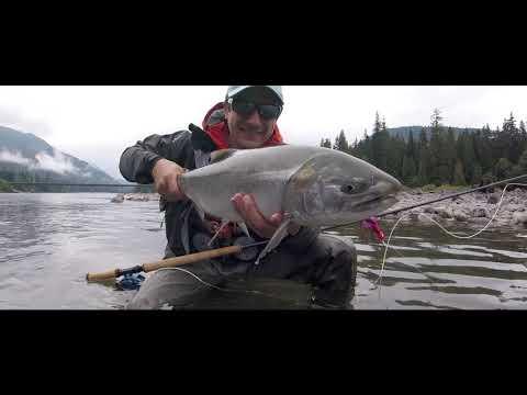 Skeena Spey Fishing Lodge - Fliegenfischen In BC Auf Steelhead & Coho / British Columbia