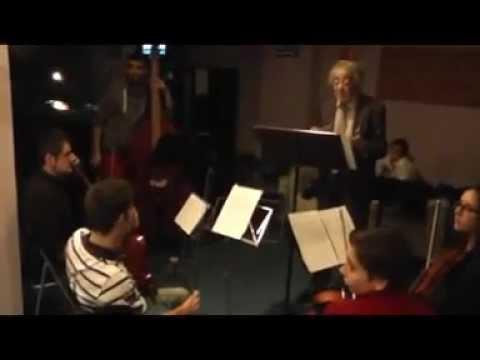Clinic Theremín - Part 1ª (Ensayos) -. Jam Session Escuela de Música de Barcelona 2/2/13