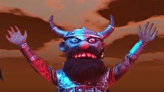 Гора самоцветов Царь и Ткач Солдат и смерть мультфильм