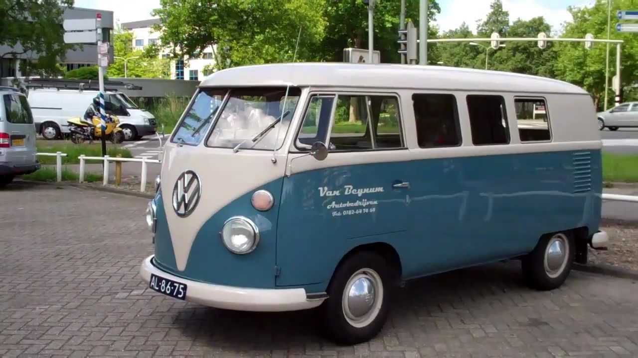 1961 vw bus t1 type 23 youtube. Black Bedroom Furniture Sets. Home Design Ideas