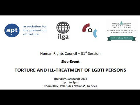 """Torture and ill-treatment of LGBTI persons"""
