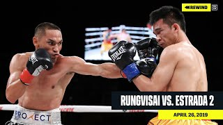 FULL FIGHT | Srisaket Sor Rungvisai vs. Juan Francisco Estrada 2 (DAZN REWIND)