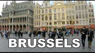 BRUSSELS BELGIUM FEB 2015 (trip video)(A short video (travel/trip) in Brussels, Belgium February 2015 (cloudy day) Filmed mostly in the touristic areas: Grand Place, Sablon, Royal Palace, BOZAR, ..., 2015-02-21T23:28:56.000Z)