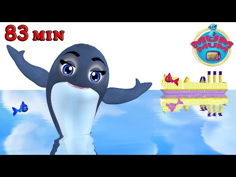 Blue Whale - Animal Songs & more Popular Nursery Rhymes Song